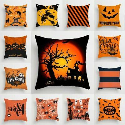 Cases Home Fabric Pillow Covers