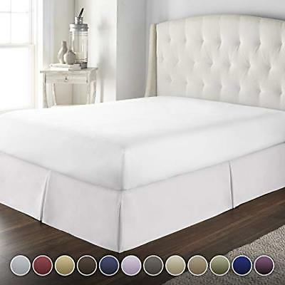 hotel luxury bed skirt dust ruffle 1800 platinum collection