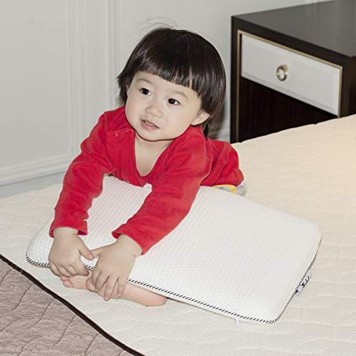 Easy-Tang Pillow for Contour Pillow Ideal for Babies, Kids, with Zipper