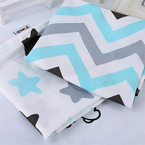 Kids Toddler 2 Pack Pillowslip Case sizesd 13 or for Kids Baby and Star