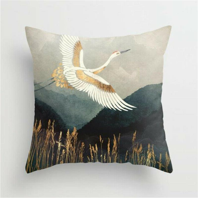 Landscape Painting Home Bed Throw Cushion