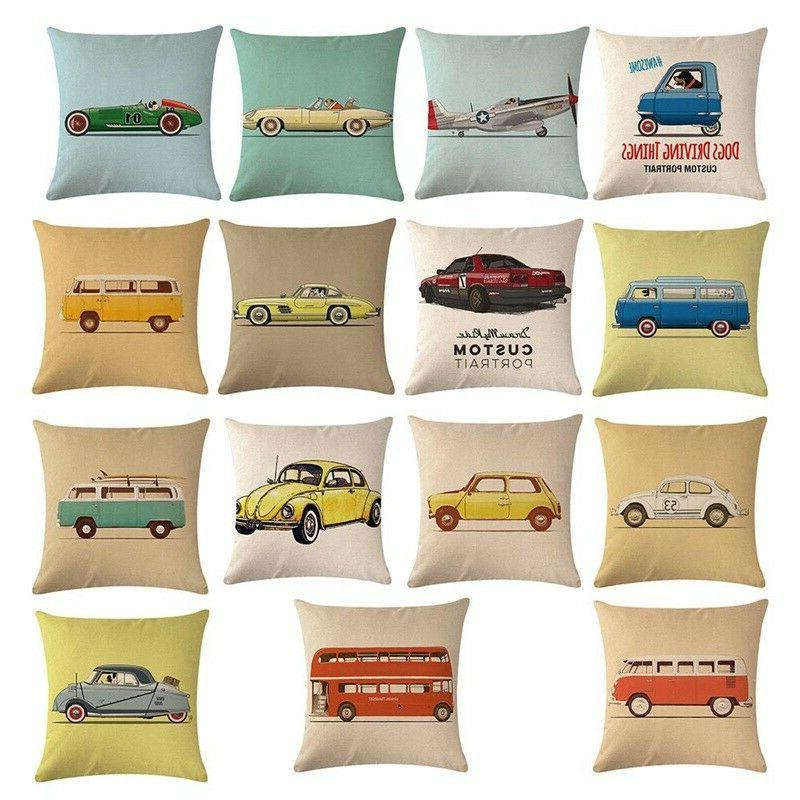Lovely Pillow Cases Cushion Cotton 1PC