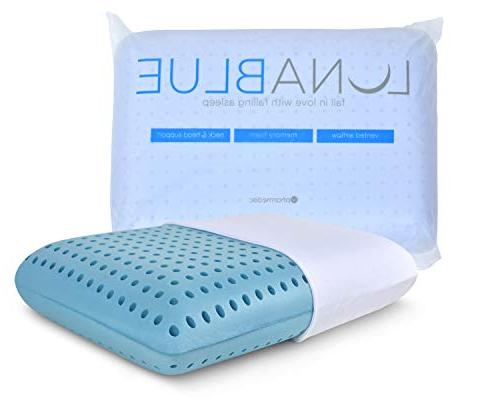 PharMeDoc LunaBLUE Pillow Ventilated with Gel Standard