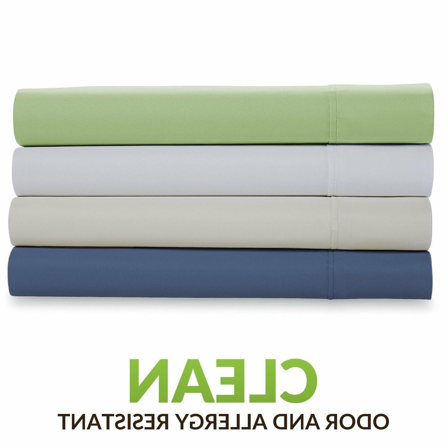 Cosy House Collection Bamboo Pillowcase Hypoallergenic Pillow