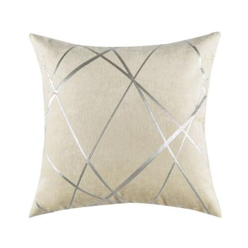 Luxury Chenille Throw Pillow Decorative Cushion Cases