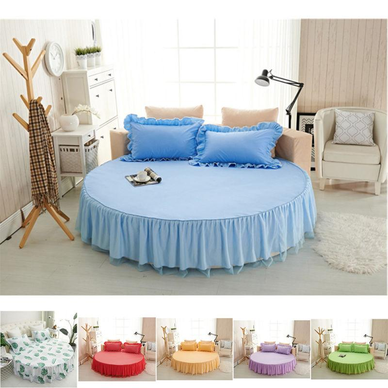 mattress cover 2 pillow cases bed round