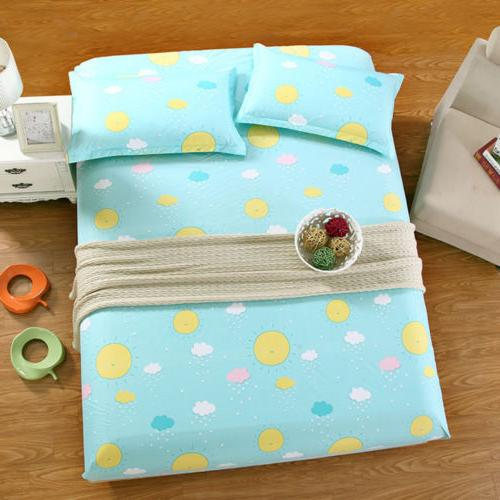 Microfiber Color Fitted Sheet Sheet Pillowcases Full