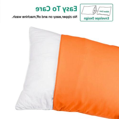 """Set of 4 Pillow Cases Cover Queen 20""""x30"""""""