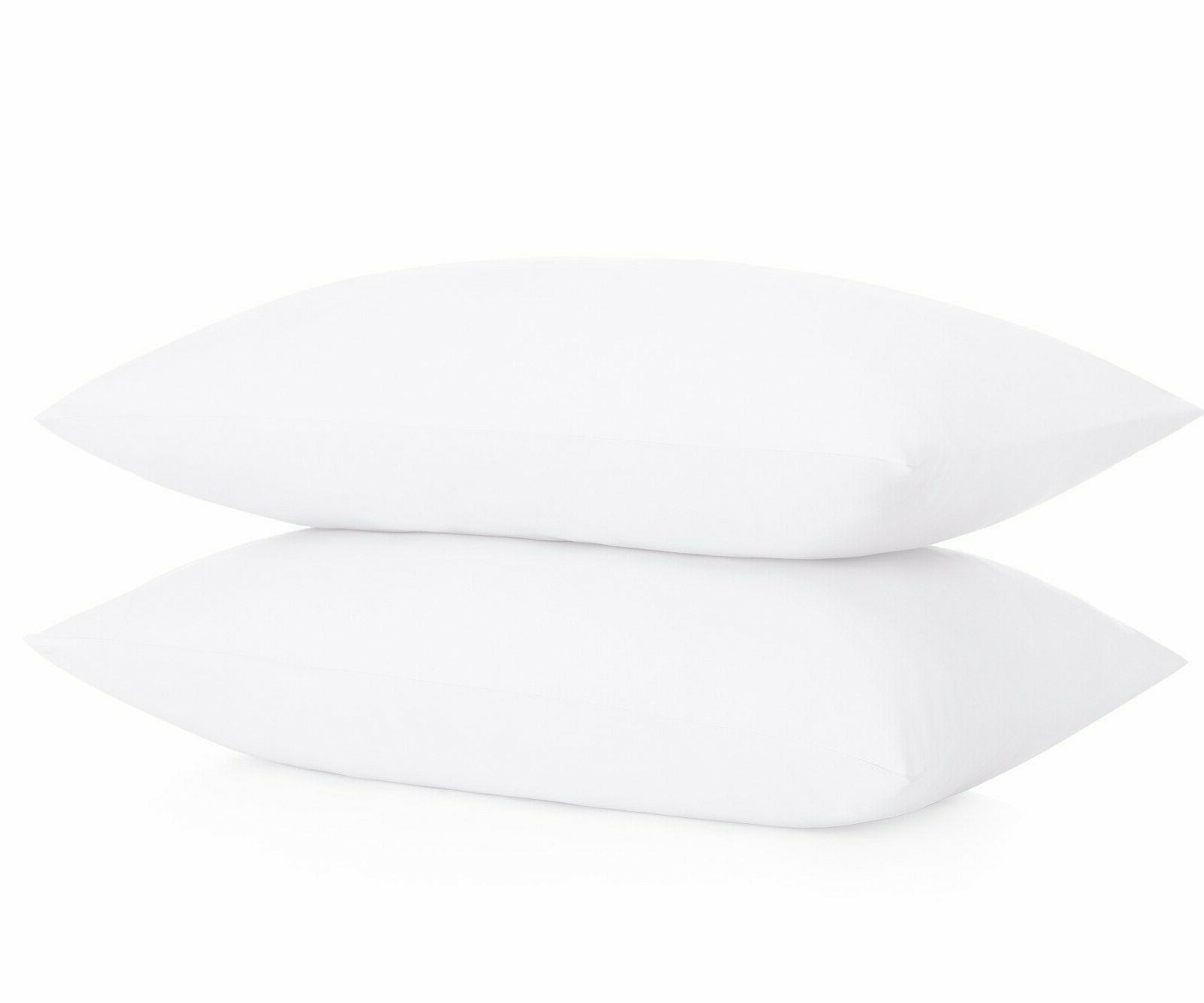 microfiber pillowcases set of 2 standard white