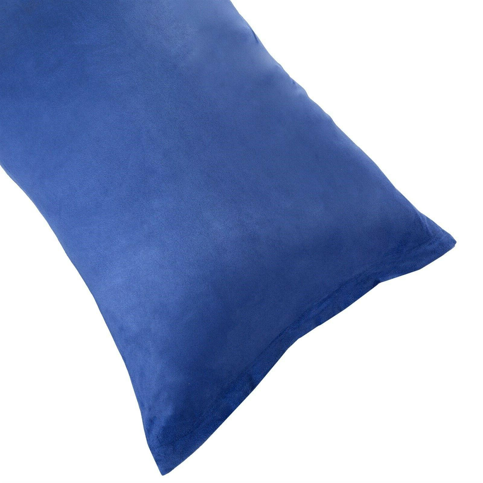 microsuede pillow cover pillowcase zippered