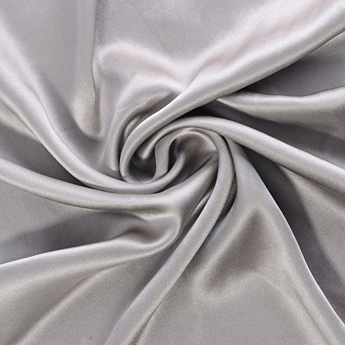 100% Pure Silk Pillowcase 21 Count for and Skin With Hypoallergenic Sides 20×26inch,