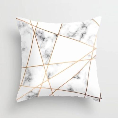 Nordic Black And Marble Inch Cover