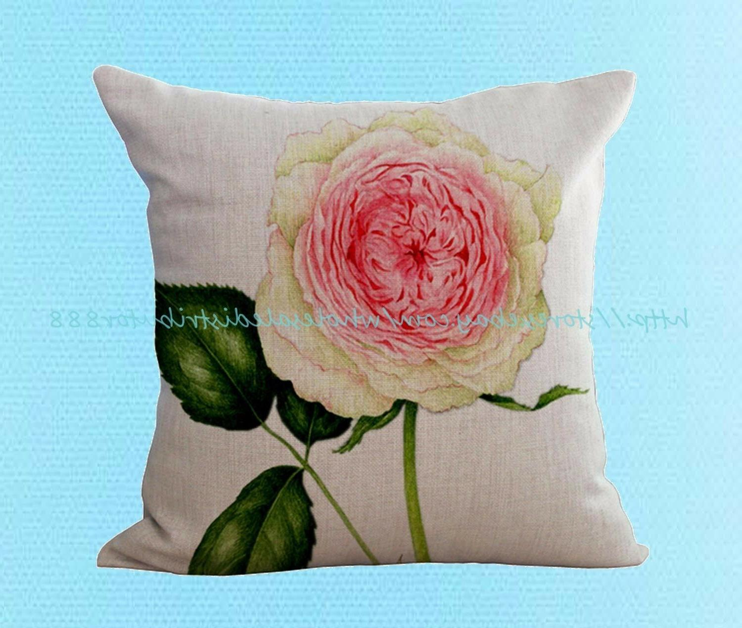 peony flower cushion cover pillowcase unique pillow cases to