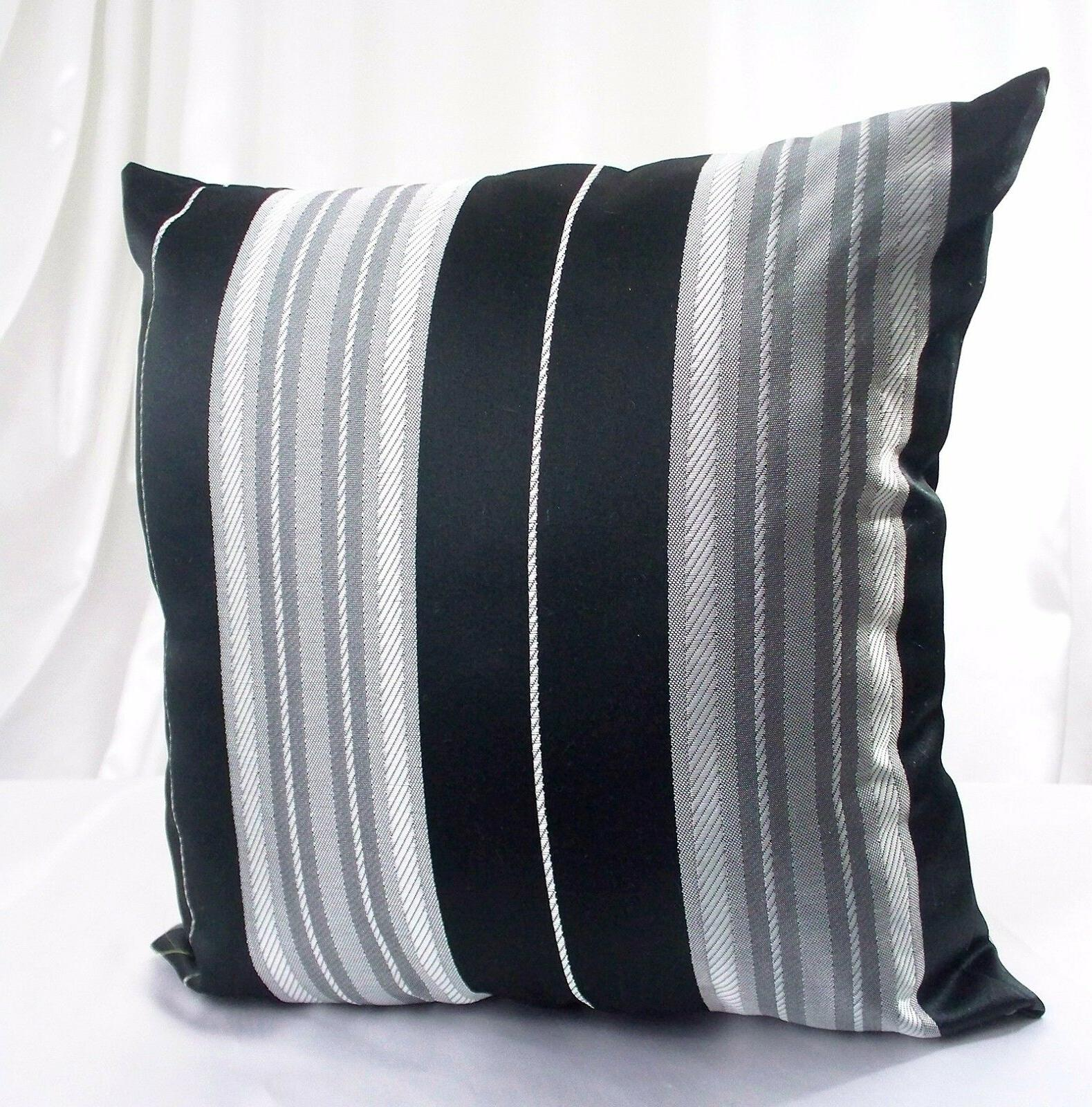 Pillow Cover Black White Cushion Throw Sham Sofa