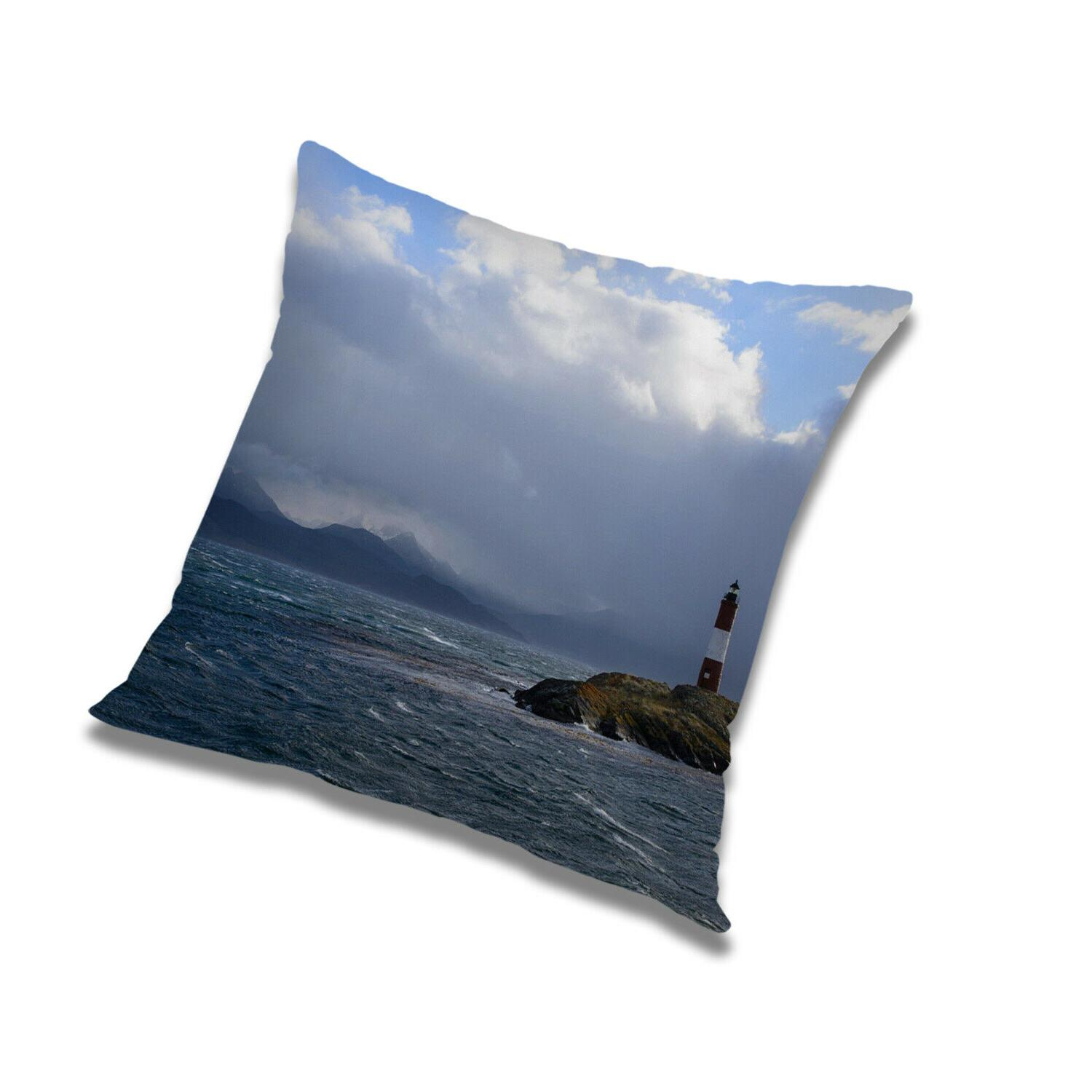 pillow cases home decoration river print square
