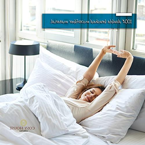 Cosy House Standard Size Pillow Case Set 2 - Fits Size - Super - Free -