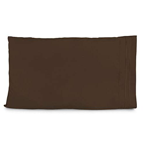 Cosy House Collection Pillowcases Standard 2 - Fits Queen Size Super Soft Hotel - Free - Hypoallergenic