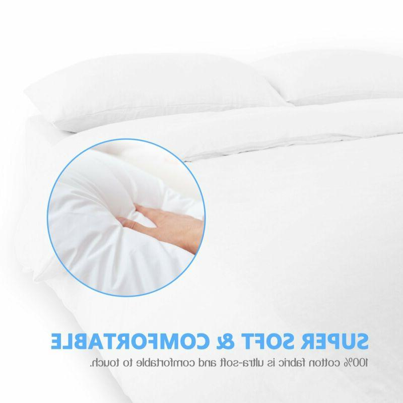 Adoric Pillow Cases Pillowcases Set Size Brushed Microfibe
