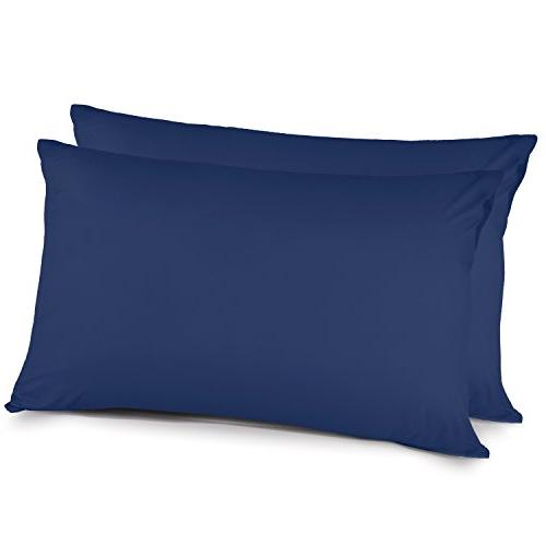 pillow cases queen brushed microfiber