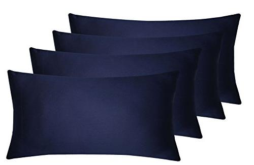 Glarea 12 Pack - Microfiber Pillowcases for Allergy & Blissful Sleep