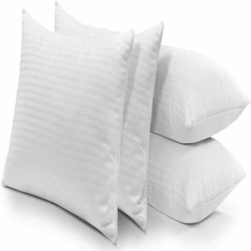 Pillow Protectors Dust Breathable Covers Zippered