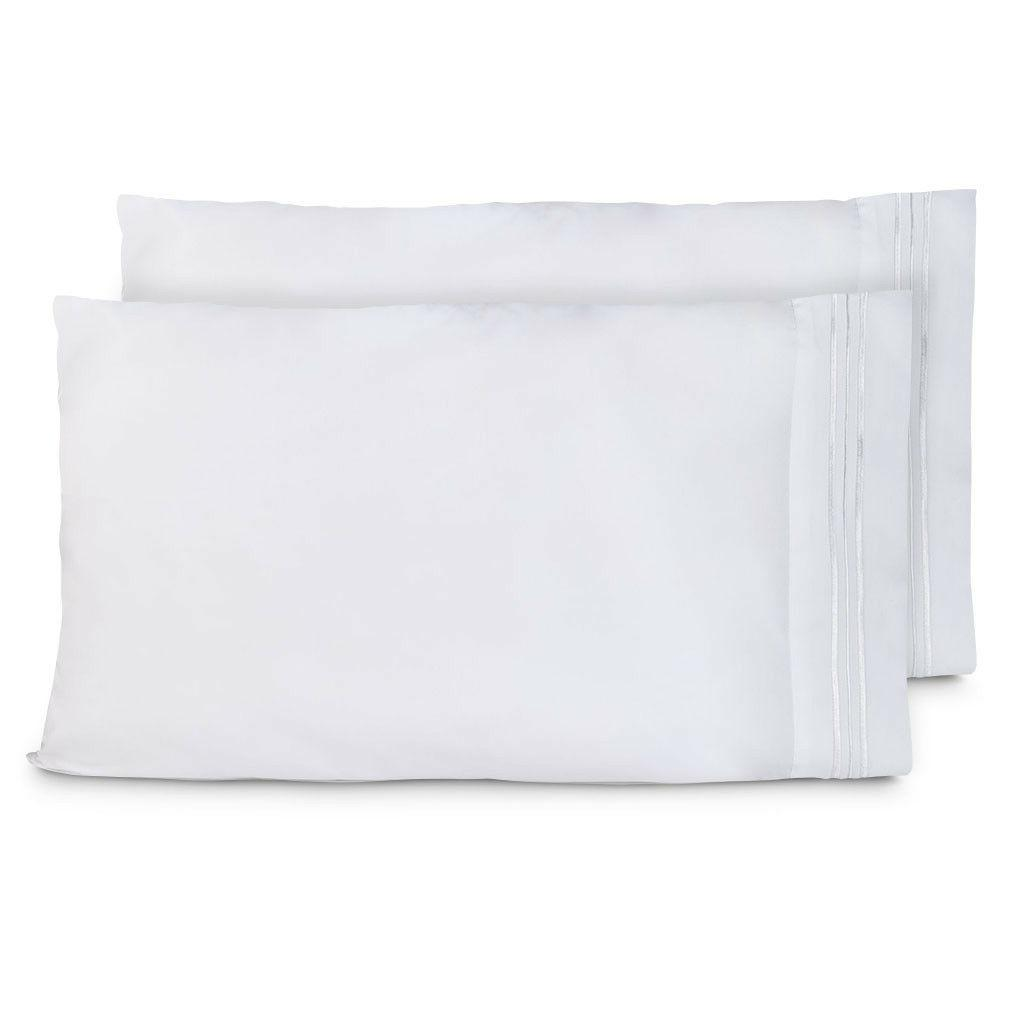 Cosy Soft of 2 Standard King Pillowcases