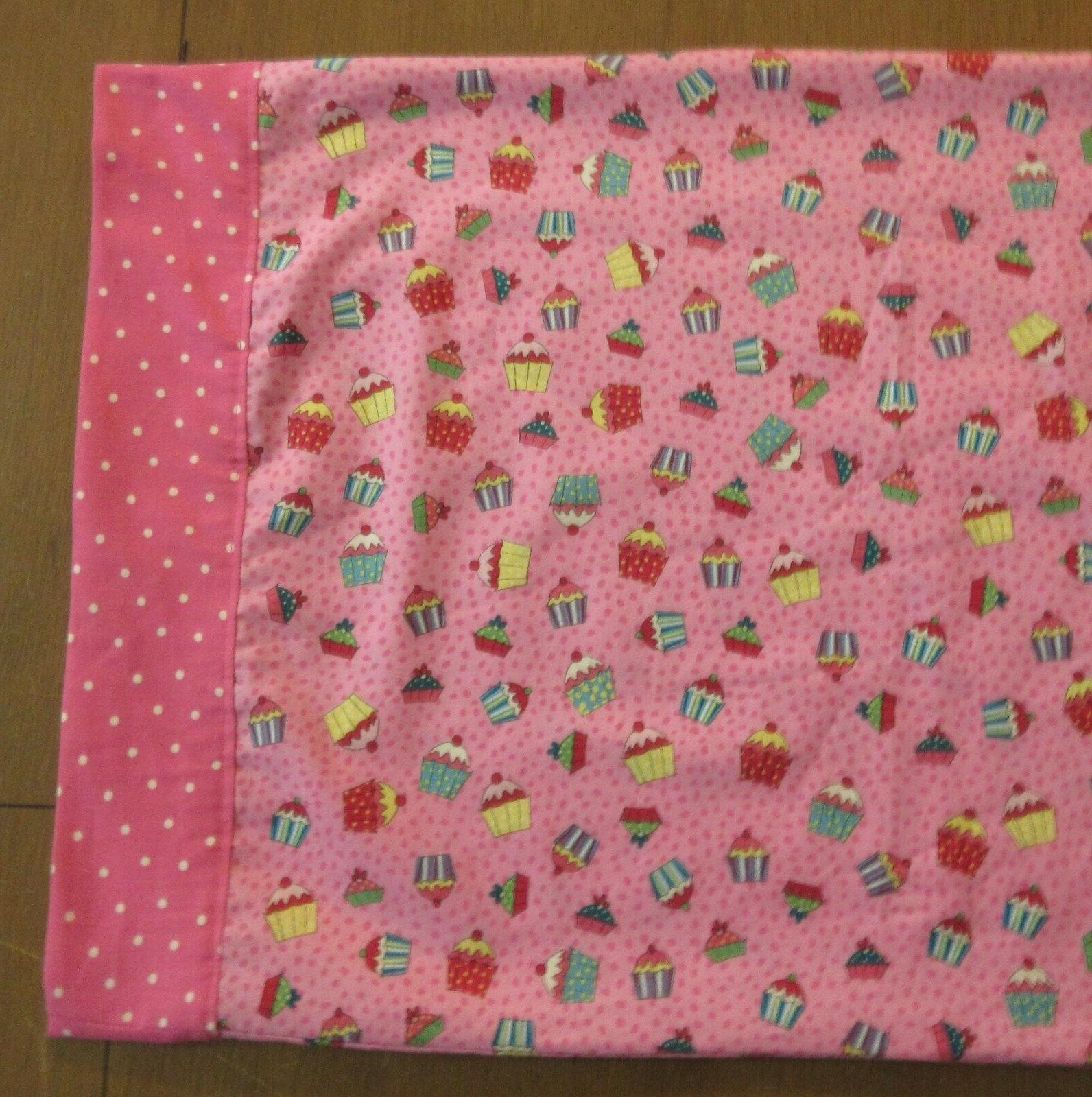 "Pink Travel/Toddler Pillow Case 14 20"" Open End #u"