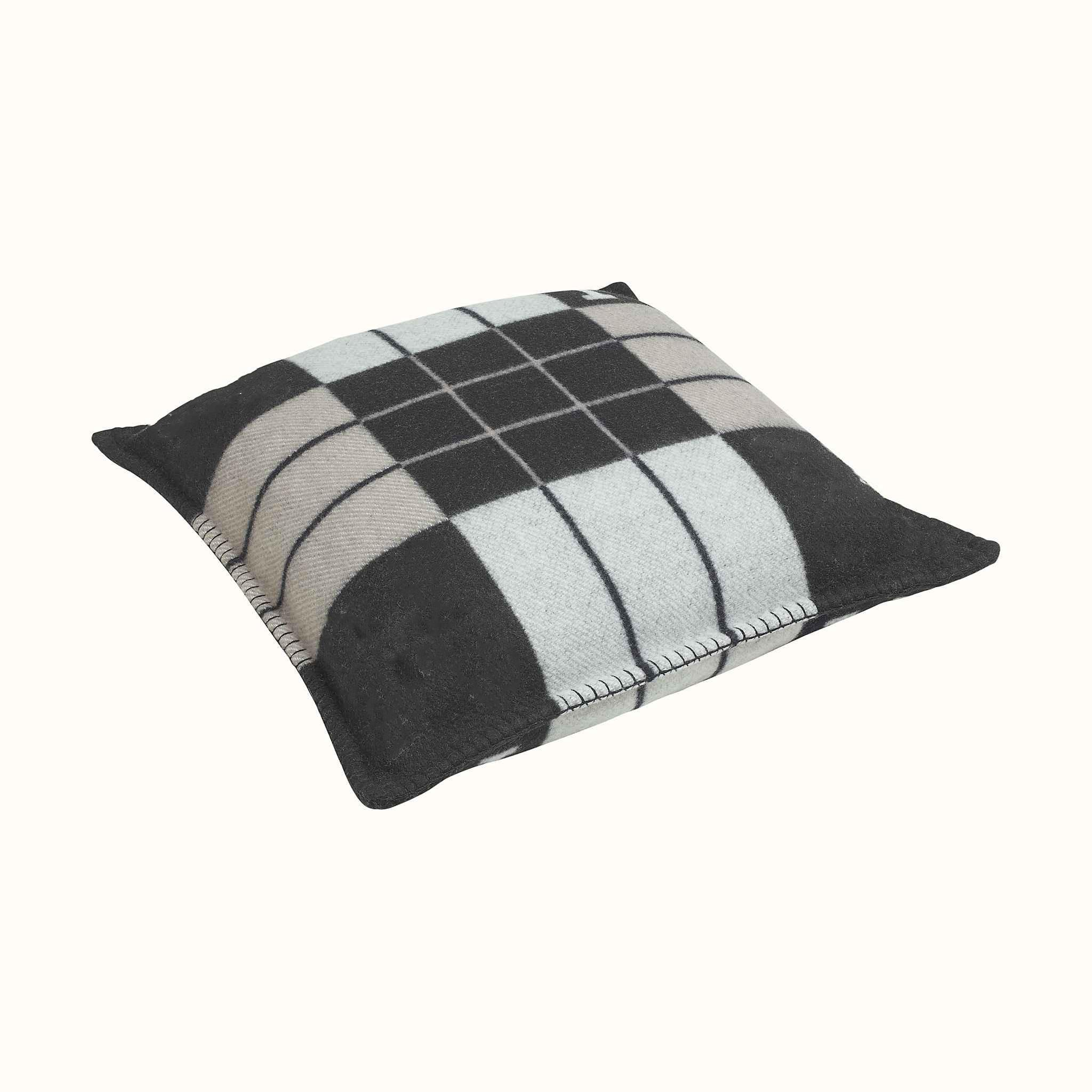 Plaid <font><b>Pillow</b></font> Cashmere Blend Home Decor Accessories Sofa Bed <font><b>Body</b></font> Knitted