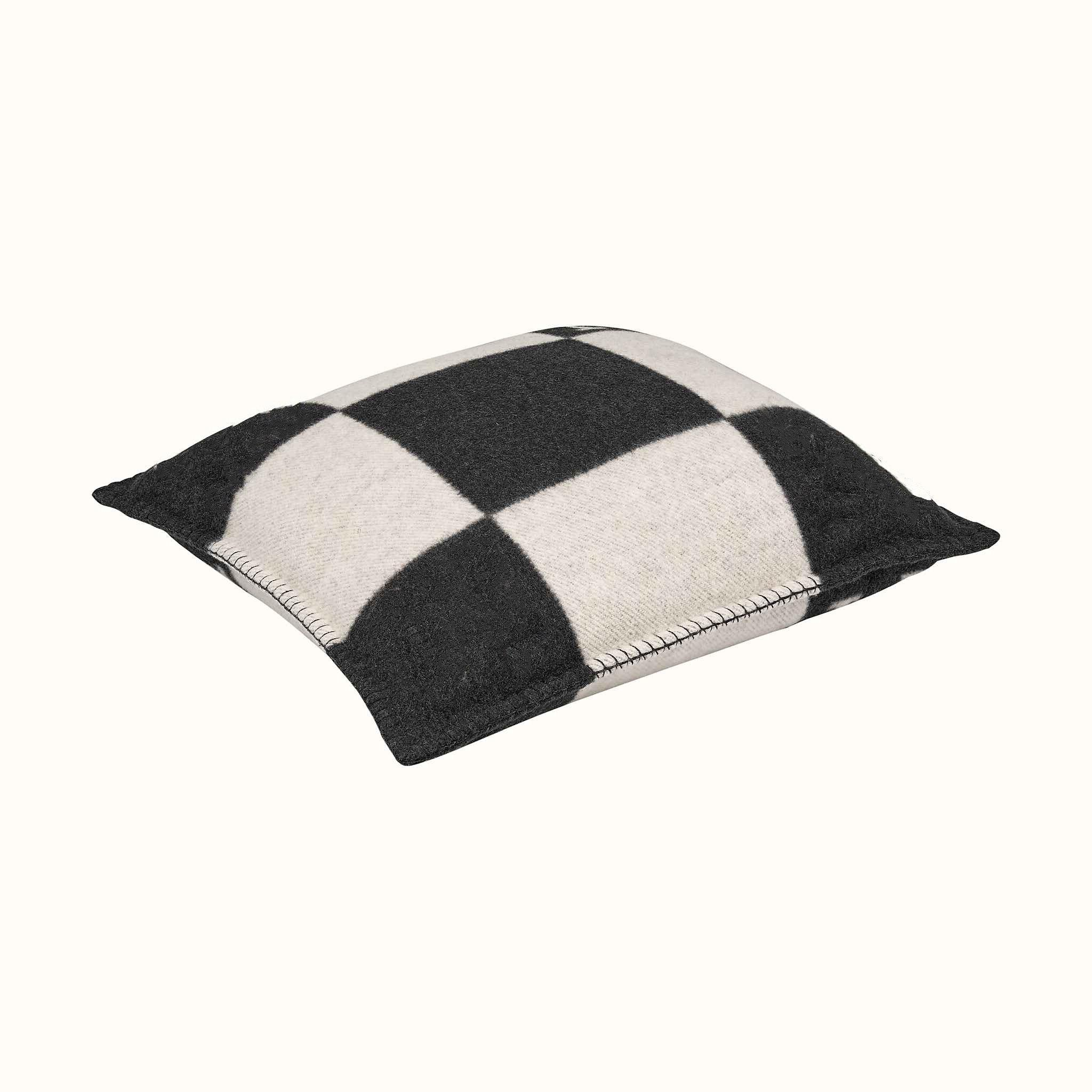 Plaid <font><b>Pillow</b></font> <font><b>Case</b></font> Cashmere Blend Soft Home Accessories Bed Knitted Pink with