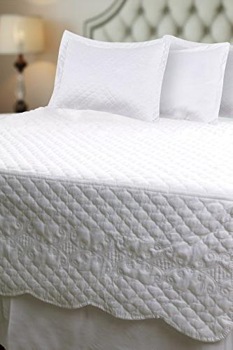 Utopia Bedding Daybed Brushed Bed Pillow 1 and 1 Quilted Bedspread &
