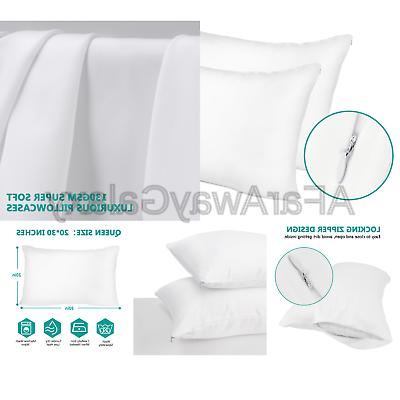 Adoric Pillow with 100% Brushed Microfiber, Hypoal...