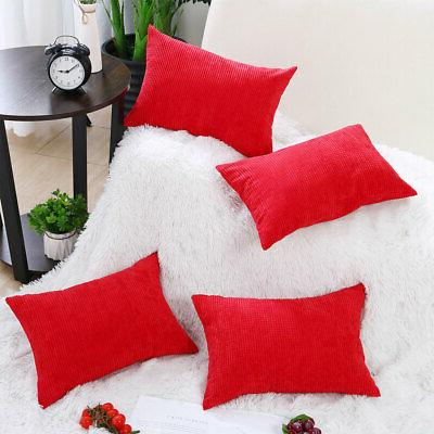 """Rectangle Cases Pillow Christmas Cushion Cover 18"""""""