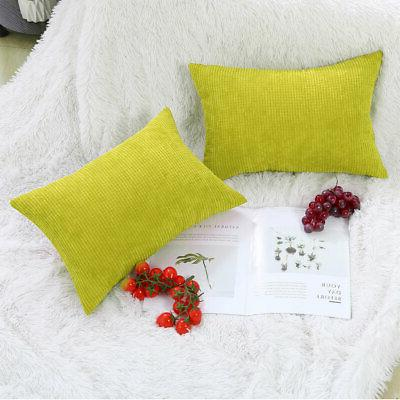 """Rectangle Cases Throw Pillow Cushion Cover 12""""x 18"""""""