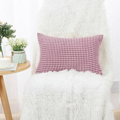 """Rectangle Pillow Cases Throw Pillow Cover Christmas Gift Cushion Cover 12""""x"""
