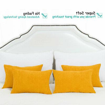 Rectangle Pillow Cover Cushion