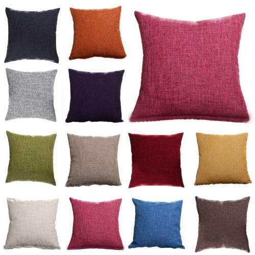 rerto geometric flower cotton linen throw pillow
