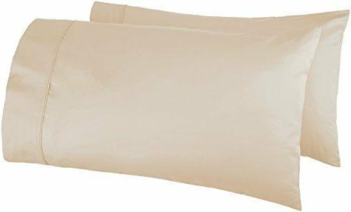 Set Of Cases 400 Thread Count Cotton Wrinkle
