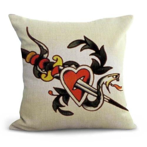 pillow Sailor girl heart