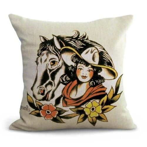 set pillow Jerry girl dagger