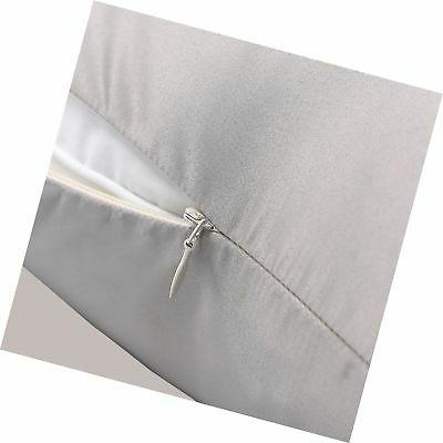 NTBAY Silky Satin Pillowcases Set of Super and Luxury, Hidde...