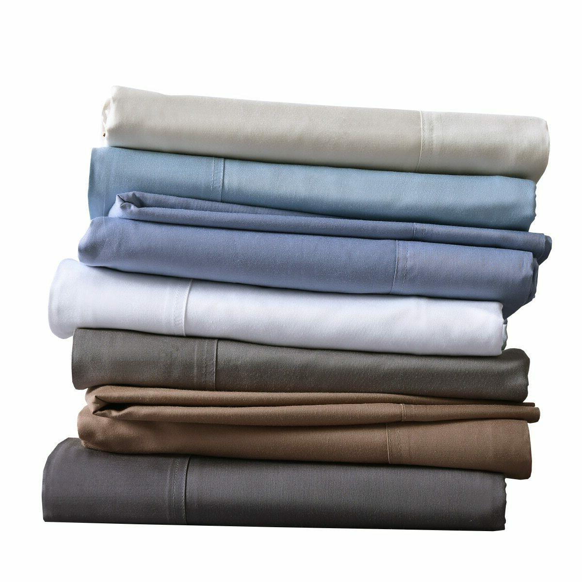Silky Soft 100% Bamboo Cotton Pillow Cases, King Hybrid Bamb