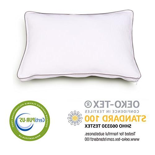 Comfort & Shredded Memory Foam, Removable Cover, 20 inches