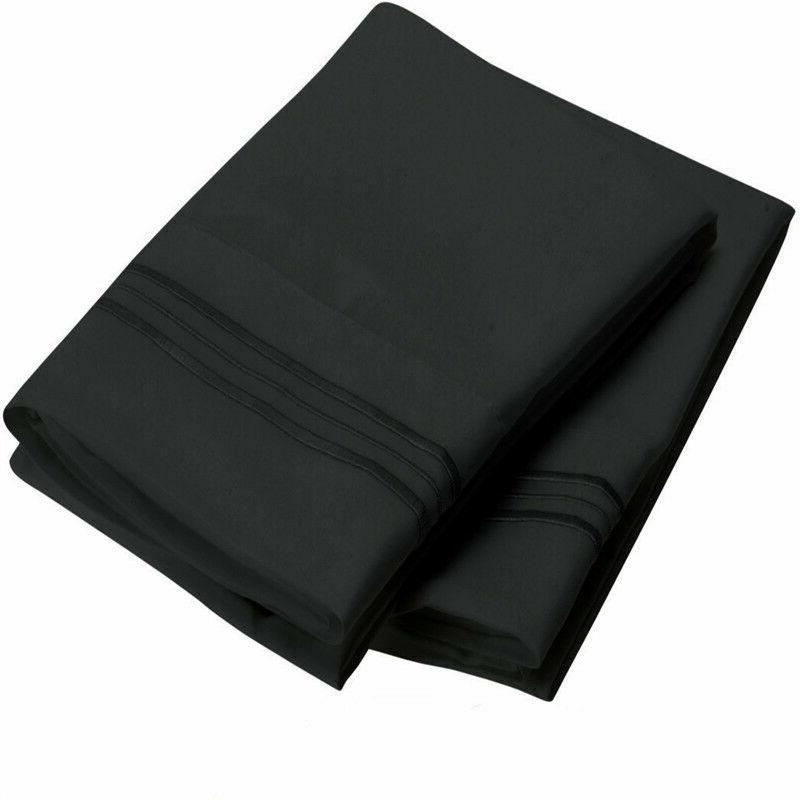 1800 - 2 Pillow Cases Per Set. King Size
