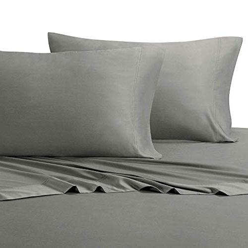 solid gray king pillowcases