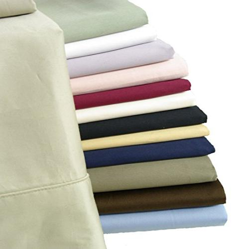 """Royal's Solid 2pc / / Queen Size x 30"""" Combed Cases"""