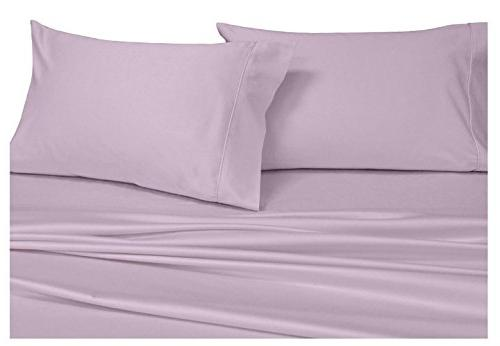 solid lilac king pillowcases