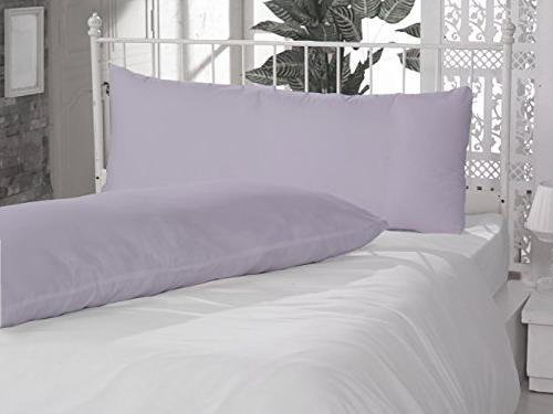 solid pattern egyptian cotton pillow