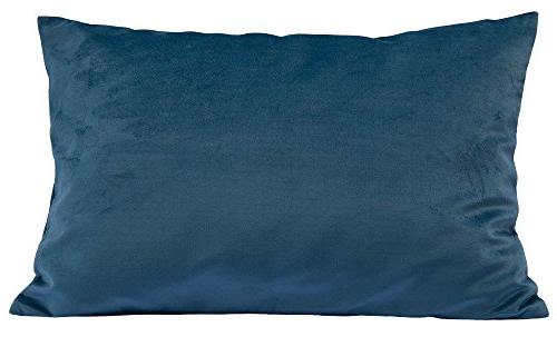 solid velvet throw pillow cover