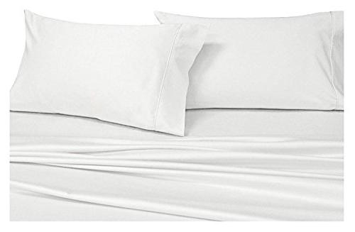 solid white 1000 thread pillowcases