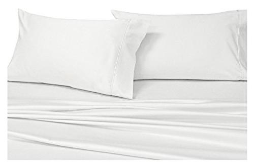 solid white pillowcases